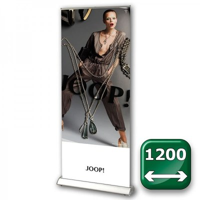 Bannerdisplay Roll-Up - DESIGN Bannermaß: 1.200x2.100mm Banner 1200x2100 mm - Roll-Up-DESIGN-1200 1