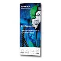 Graphic track standard 1,500 mm size: 1.500x2.100mm Digital latex printing 6/0 coloured - Grafikbahn-STANDARD