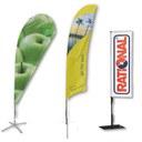 Beachflags / Werbefahnen