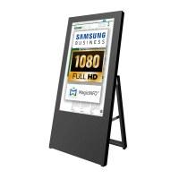 Digital Signage Digital customer stopper for indoor use - size: 32 inch Finish: black - one-sided - digitaler-kundenstopper-32-zoll-schwarz