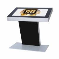 Digital Signage Digital Kiosk - landscape format one-sided 32 inch screen - black incl. Samsung LED display for 16/7 use - Digitales Kiosk 32 zoll Full HD