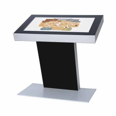Digitales Kiosk - Querformat einseitiger 49 Zoll-Bildschirm - schwarz 43 Zoll - Digitales Kiosk