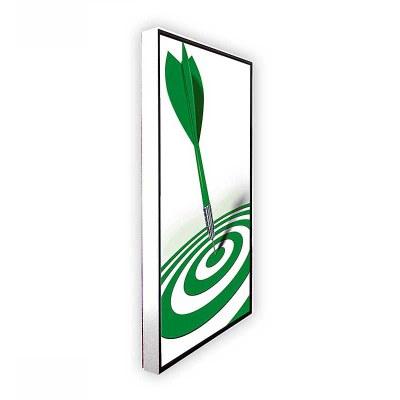 Digitales Poster TrendLine (Wandmontage) einseitiger 43 Zoll-Bildschirm - weiss inkl. Wandmontageset - digitales-poster-trendline-seite-ws