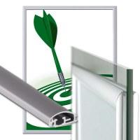 hinged frame windows Insert format: DIN A1 (594x841 mm) Profile: 25mm mitre - Fenster Klapprahmen-25er-Profil-Gehrung
