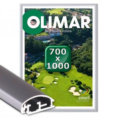 Klapprahmen Standard Einlegeformat: 700x1.000 mm 700x1000 mm - Klapprahmen 700x1000 25mm Gehrung
