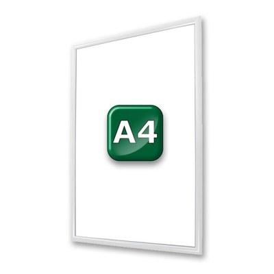Klapprahmen Standard Einlegeformat: DIN A4 (210x297 mm) DIN A4 (210x297 mm) - klapprahmen-25er-profil-gehrung-weiss-a4