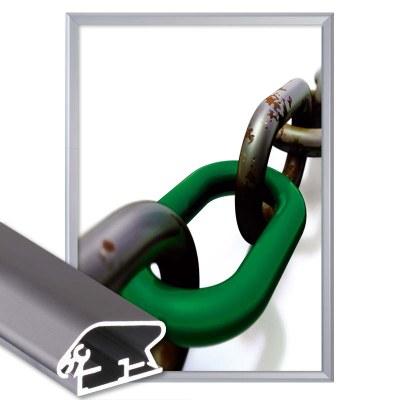 Klapprahmen Standard Einlegeformat: 700x1.000 mm Profil: 32mm Gehrung - Klapprahmen-32er Gehrung
