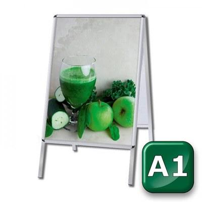 Kundenstopper INDOOR Einlegeformat: DIN A1 (594x841 mm) DIN A1 (594x841 mm) - kundenstopper-indoor-din-a1