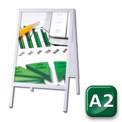Kundenstopper OUTDOOR Einlegeformat: DIN A2 (420x594 mm) DIN A2 (420x594 mm) - Kundenstopper-Outdoor-DIN-A2-Gehrung