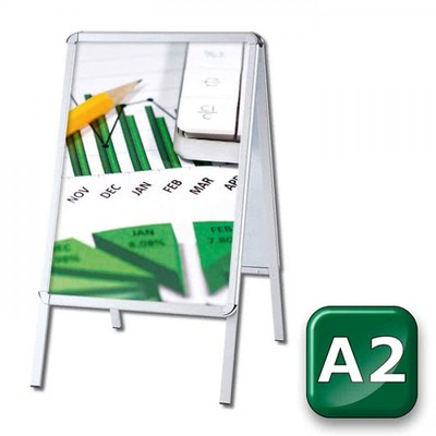 Kundenstopper OUTDOOR Einlegeformat: DIN A2 (420x594 mm) DIN A2 (420x594 mm) - Kundenstopper-Outdoor-DIN-A2-Rondo