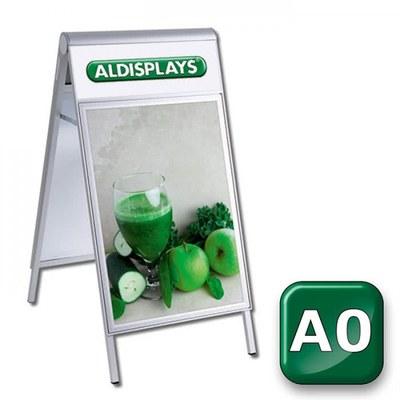 Kundenstopper PREMIUM Topper Einlegeformat: DIN A0 (841x1.189 mm) DIN A0 (841x1189 mm) - kundenstopper-premium-din-a0-top-bedruckt