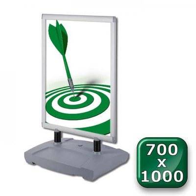 Kundenstopper Swing-Master PREMIUM Einlegeformat: 700x1.000 mm 700x1000 mm - Kundenstopper-Swing-Master-700x1000-Standard