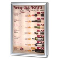 Lightbox CLASSIC Design: one-sided Insertion format: DIN A2 (420x594 mm) - leuchtkaesten classic