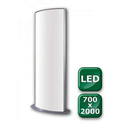 Leuchtsäule WAYLIGHT Einlegeformat: 700x2.000 mm 700x2.000 mm - Leuchtkasten-Waylight-700x2000 LED