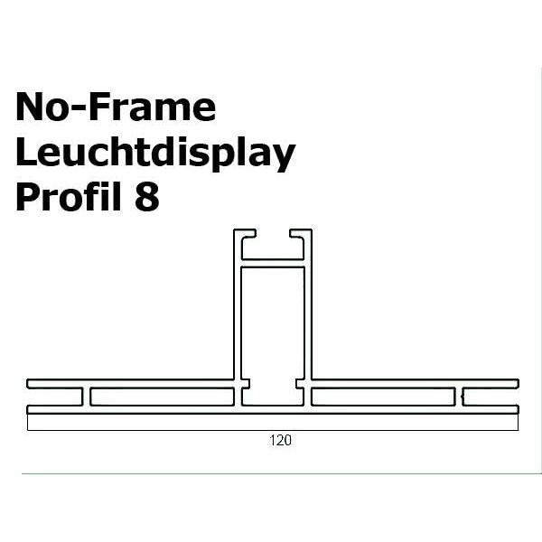 No-Frame-Leuchtdisplay Zeichnung-Profil-8