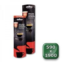 POS pillar cardboard PREMIUM Format: 590 x 1,900 mm (foldable) Material: 350g/m² ALASKA - faltdisplay pappe premium 590x1900