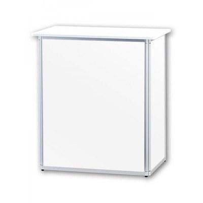 Promotiontheke ALLEGRO®-Minitheke inkl. Deckelplatte (weiß) & Einlegeboden None - Mini-Theke-ohne-Druck 2