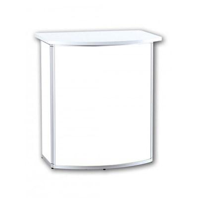Promotiontheke ALLEGRO®-Rondotheke inkl. Deckelplatte (weiß) & Einlegeboden None - Rondotheke-Ohne Druck 2