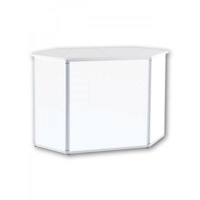 Promotiontheke ALLEGRO®-Sechsecktheke inkl. Deckelplatte (weiß) & Einlegeboden None - sechseckthek ohne druck