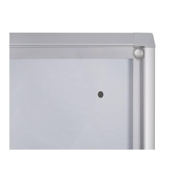 Schaukasten ECO BT26 Indoor Detail Eckverbindung