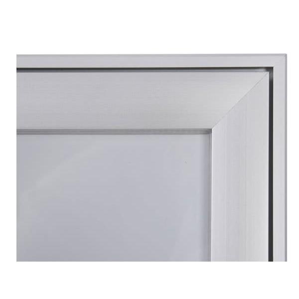 Schaukasten FLAT BT23 Indoor Outdoor Detail Eckverbindung 1
