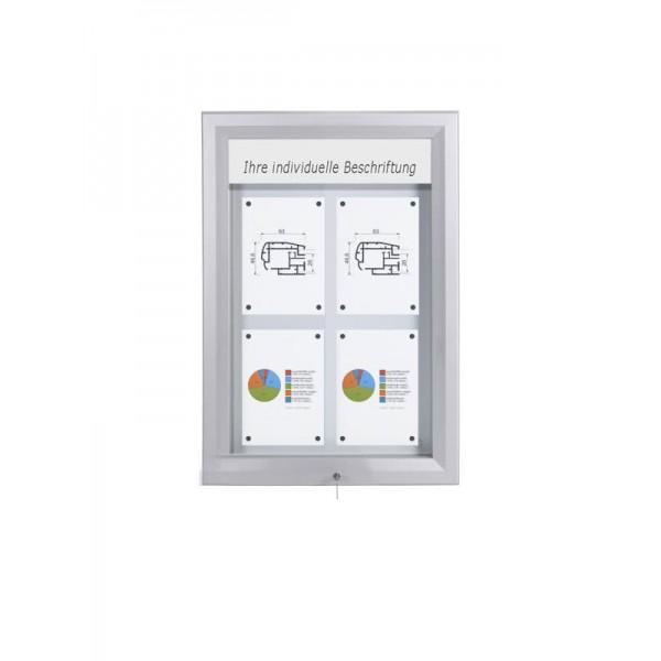 Schaukasten PREMIUM LED BT46 Outdoor 2x2
