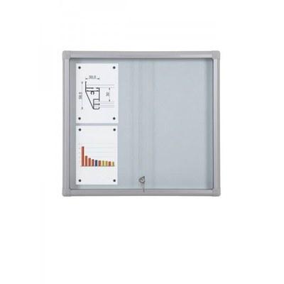 Schaukasten Schiebetür BT58 Indoor 3x2 DIN A4 (Außenformat: 720x675mm) 6x DIN A4 - Schaukasten Schiebet r BT58 Indoor 3x2