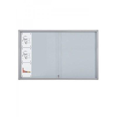Schaukasten Schiebetür BT58 Indoor 7x3 DIN A4 (Außenformat: 1.600x982mm) 21x DIN A4 - Schaukasten Schiebet r BT58 Indoor 7x3