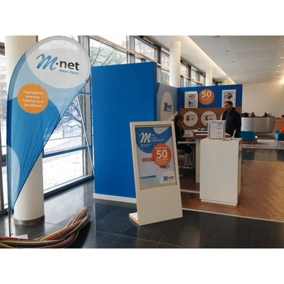 Shopsystem M-Net Individuelle Ausführung & Format None - Shop-Systeme-M-Net-Beachflag