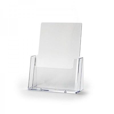 Tischständer - Einzel Einlegeformat: DIN A5 (148x210 mm) Anzahl Fächer: 1 - Dispenser-DIN-A5-Wand-Hochformat-Pro199