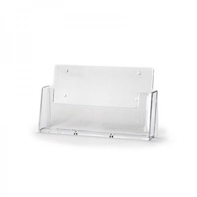 Tischständer - Einzel Einlegeformat: DIN A5 (148x210 mm) Anzahl Fächer: 1 - Dispenser-DIN-A5-quer-IKEA-CLA05