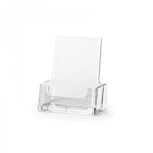 Visitenkartenhalter Im Hochformat Glasklar