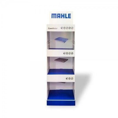 Warenträgerdisplay aus Pappe in verschiedenen Formaten und Ausführungen None - mahle caremetrix display front