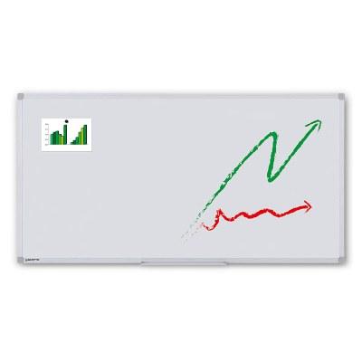 Whiteboard PREMIUM zur Wandmontage Außenformat: 2.000x1.000mm (B/H) Sichtformat: 1.966x966 mm (BxH) - Whiteboard-ECO_2000x1000_Übersicht
